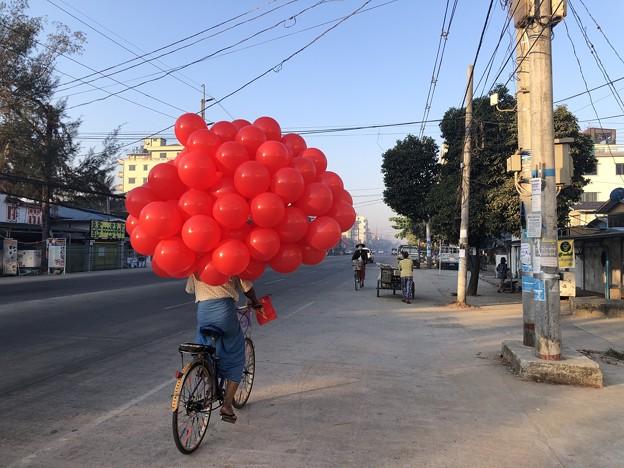 土曜日のヤンゴン2月13日 (19)