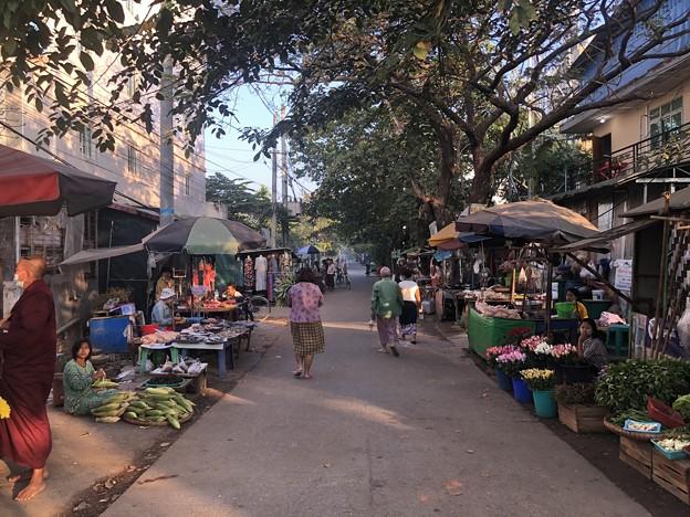 ヤンゴン 日曜日の朝 2月14日 (17)