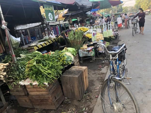 ヤンゴン 日曜日の朝 2月14日 (13)
