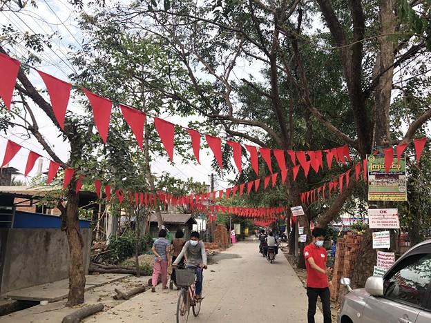 NLD支持の住民の抵抗 (1)
