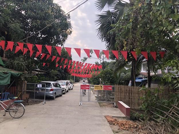 NLD支持の住民の抵抗 (2)