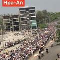 Photos: ミャンマー2月22日の大規模デモ (14)