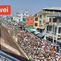 ミャンマー2月22日の大規模デモ (11)