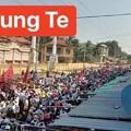 Photos: ミャンマー2月22日の大規模デモ (6)
