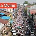 Photos: ミャンマー2月22日の大規模デモ (5)