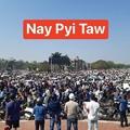 Photos: ミャンマー2月22日の大規模デモ (2)