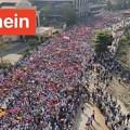 Photos: ミャンマー2月22日の大規模デモ (9)