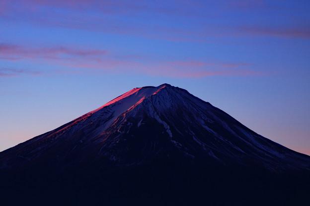 嶺の夜明け