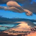 雲との共演