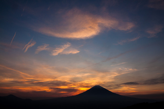 皐月の夕景