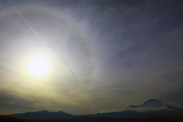 Photos: 霞雲の日に