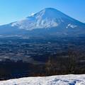 写真: 峠からの午後