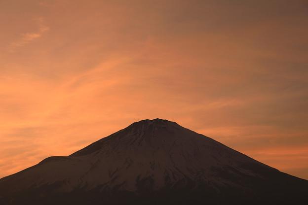 写真: 穏やかな夕景