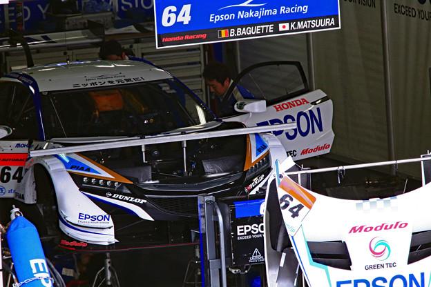 Epson Modulo NSX-GT_ピット