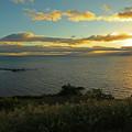 Photos: 夕日を眺めて