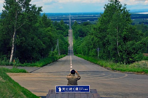 天に続く道