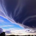 Photos: 巨大な吊るし雲
