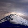 写真: 黒富士