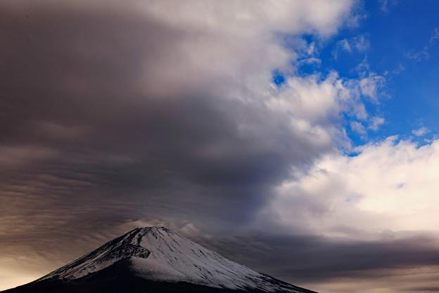 黒富士全景