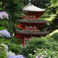 三重の塔(岩船寺)