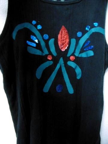 手作りのアナ衣装2