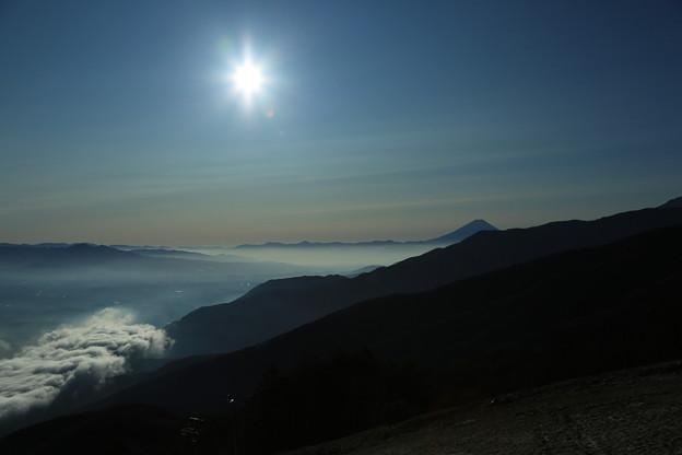 Photos: 雲海と富士山