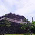 Photos: 甲府城_稲荷郭からみた天守台