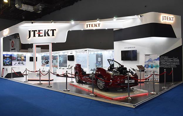 Stall Designing for Auto Expo 2020    Dsigner Studio