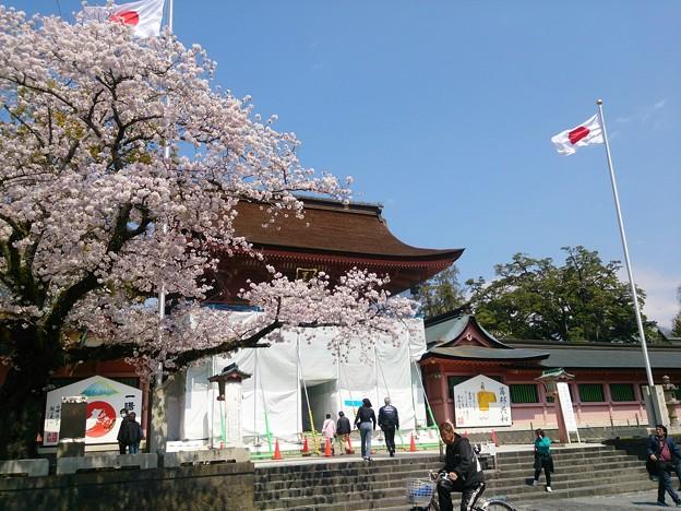 19浅間神社1 社頭