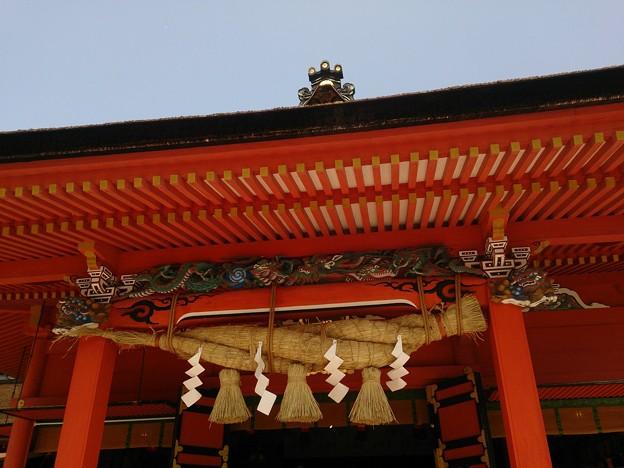 19浅間神社3 注連縄