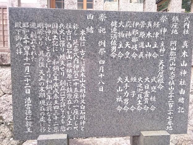 008眞木山神社A13 由緒