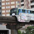 東京モノレールキキラララッピング車両