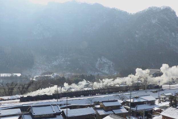 写真: 雪晴れ碓氷 4カット