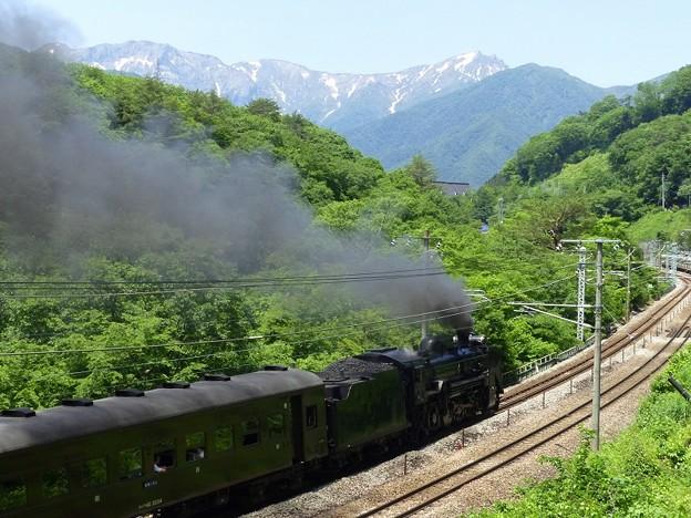 初夏の汽車旅