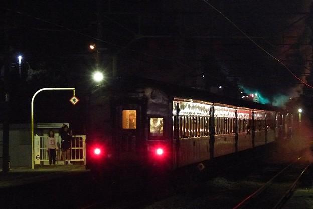 Photos: 去りゆく重連夜汽車