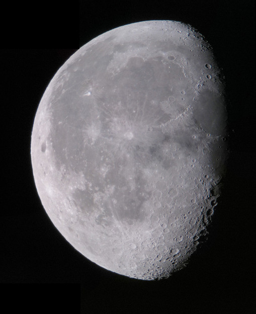 写真: 月齢 20.2  170812深夜
