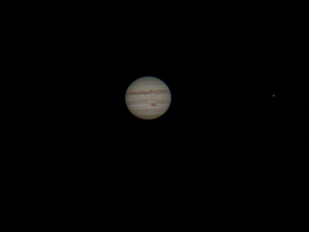 写真: 今が見頃 木星 180602