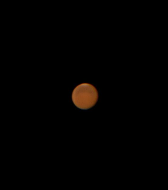 今日の火星 180811