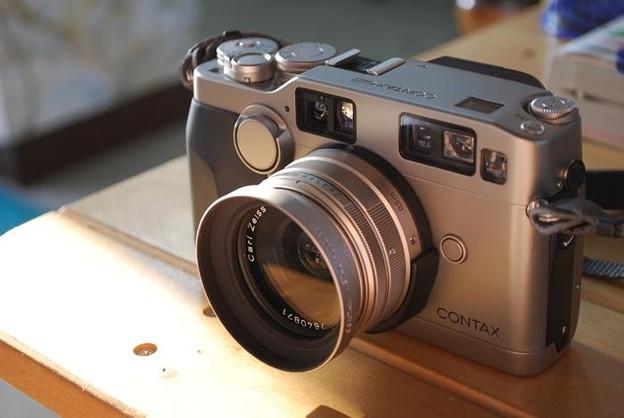 写真: 20年来の付き合い Contax G2