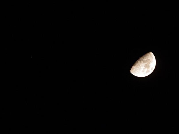 月と火星のランデブー 181018