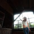 写真: 光の窓