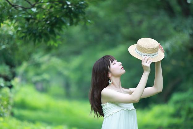 Photos: 帽子と私