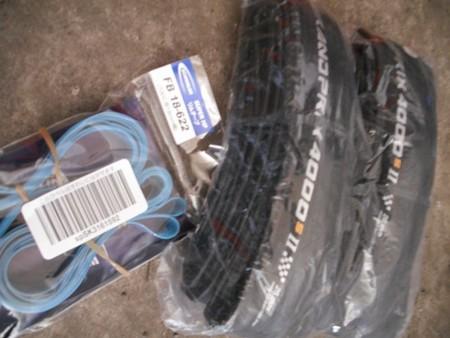 タイヤとリムテープ交換