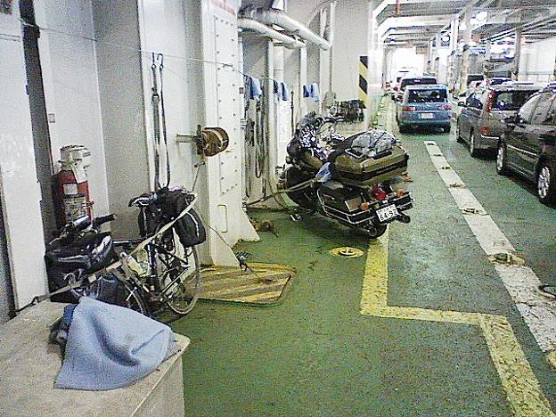 (自転車)20090506 009_青森→函館のフェリー内