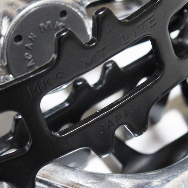 80s MKS MT-LITE ペダル ブラック