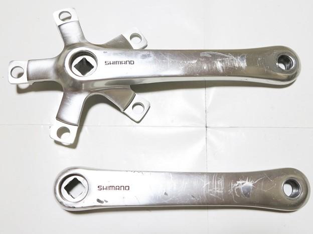 SHIMANO DEORE-XT FC-M730 クランク 170mm シルバー