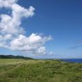 写真: 与那国島