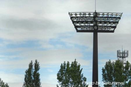 野球場のライト