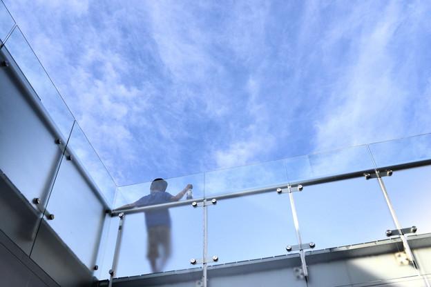 Photos: 少年と空と