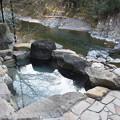 写真: 龍神温泉上御殿の露天風呂 IMG_4285